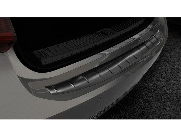 Чёрная накладка на задний бампер AUDI A7 C8 Sportback - Avisa 5