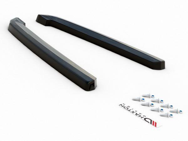 Боковые задние сплиттера AUDI A7 C8 S-Line 7