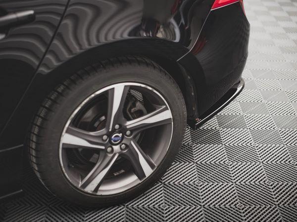 Боковые задние сплиттера Volvo S60 R-Design II (2014+) 2