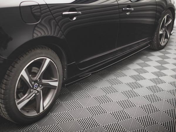 Диффузоры боковых порогов Volvo S60 R-Design II (2014+) 2