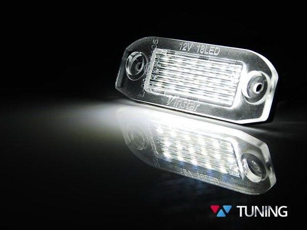 Диодная подсветка заднего номера Volvo S60 (2010+) 3