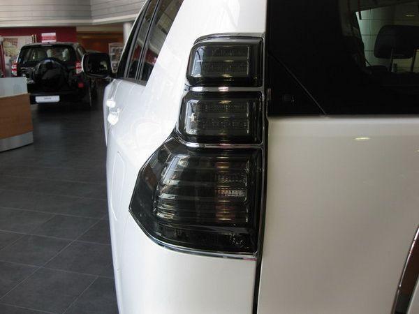 Фонари задние TOYOTA Prado 150 (2009-2013) - тёмные - фото 5