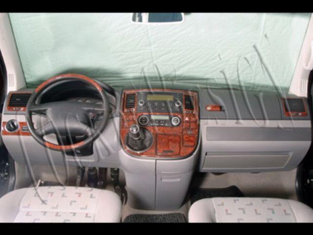 Накладки на торпедо VW T5 Multivan (2003-2009)