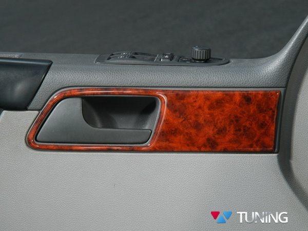 Накладки на торпедо VW T5 Multivan (2003-2009) - дерево - фото #3