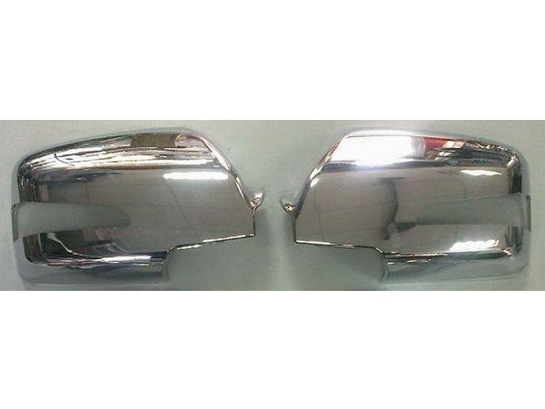 Хром накладки на зеркала с поворотами KIA Sportage II (2009-2010)