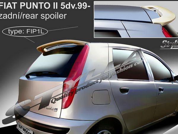 Спойлер над стклом FIAT Punto II (1999-) 5D