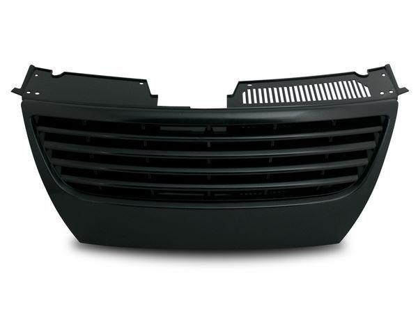 Решётка радиатора VW Passat B6 - чёрная - фото #1