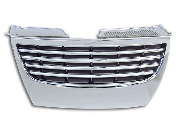 Решётка радиатора VW Passat B6 - хром - фото #1