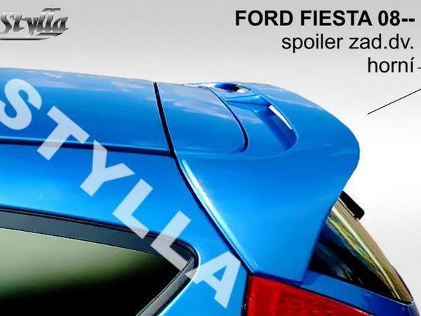 Спойлер - козырёк FORD Fiesta Mk7 (2008-)