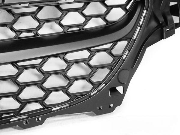 Чёрная решётки радиатора OPEL Corsa E (без логотипа) 2
