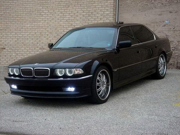 Решётка радиатора BMW E38 (94-01) ХРОМ