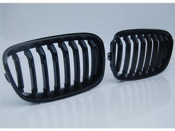 Решётка радиатора BMW 1 F20 / F21 (2011-) чёрная глянец