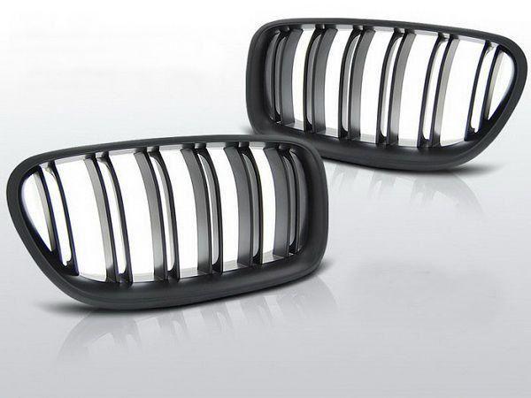 Решётка радиатора (ноздри) BMW 5 F10/F11 (10-13) M5 чёрные мат