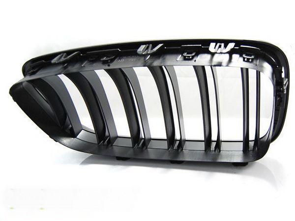 """Решётка радиатора (ноздри) BMW 5 F10/F11 (10-13) """"M5"""" чёрная мат"""