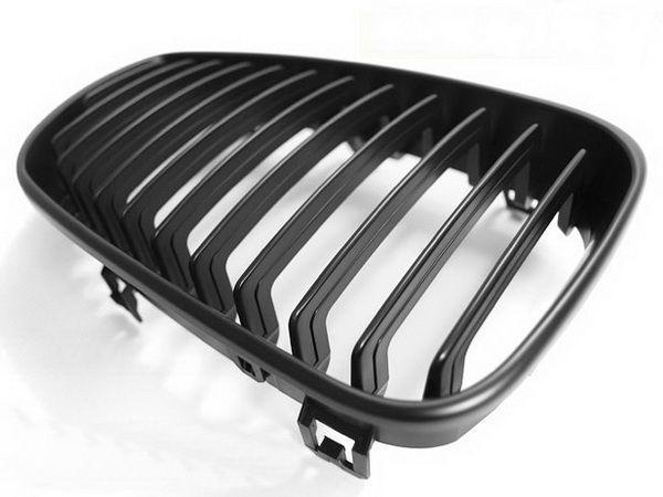 Ноздри BMW E87/E81 (07-11) рестайлинг чёрный мат