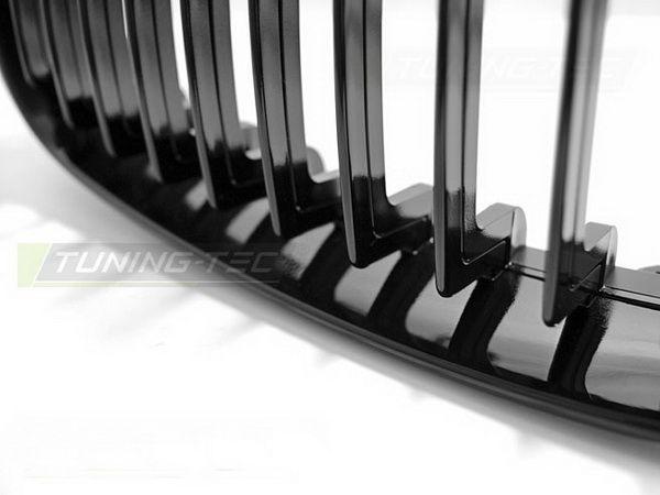 Ноздри BMW E87/E81 (07-11) рестайлинг чёрный глянец