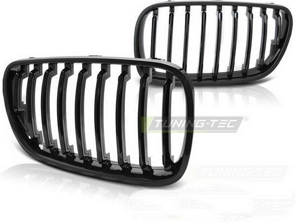 Ноздри BMW X3 E83 (06-10) рестайлинг чёрный глянец