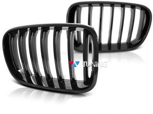 Ноздри BMW X3 F25 (2011-2014) чёрный глянец