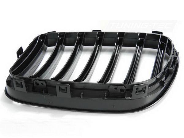 Ноздри BMW X3 F25 (2011-2014) чёрный глянец - вид сзади