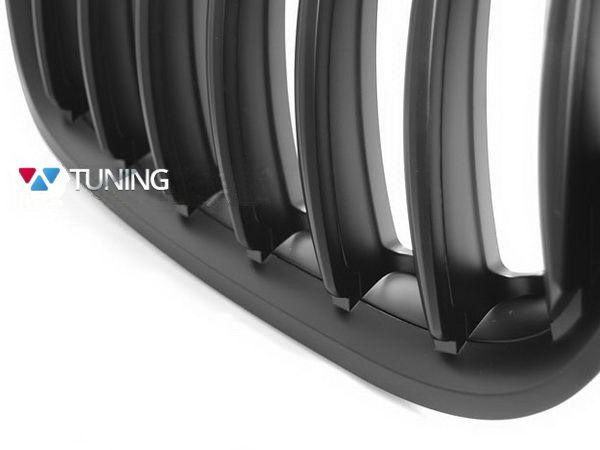 Решётка радиатора BMW X5 E53 (04-06) чёрный мат - фото #2