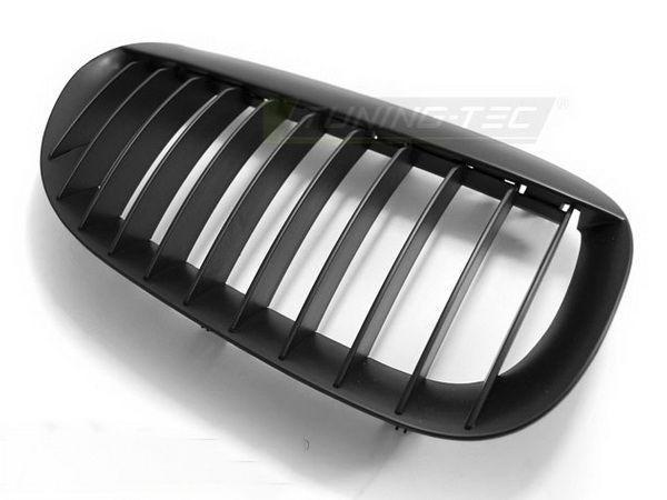 Решетка радиатора BMW E63 / E64 (02-10) черная матовая