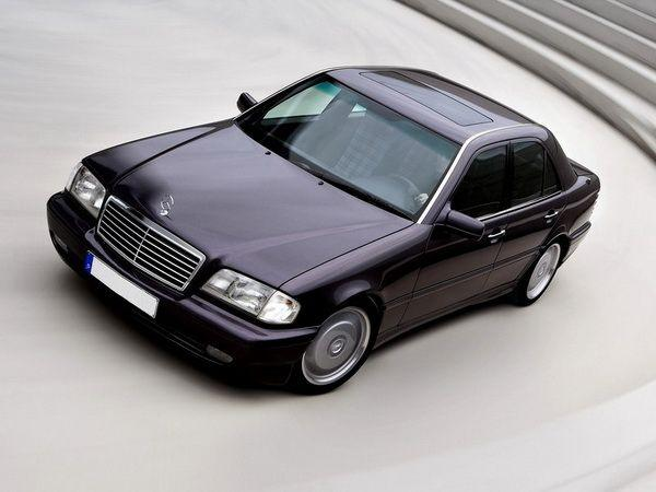 "Решётка радиатора MERCEDES W202 (93-01) ""AVANTGARDE"""