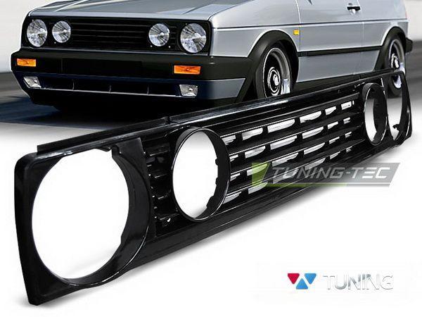 Решётка радиатора VW Golf II (83-92) GTI-Type чёрная