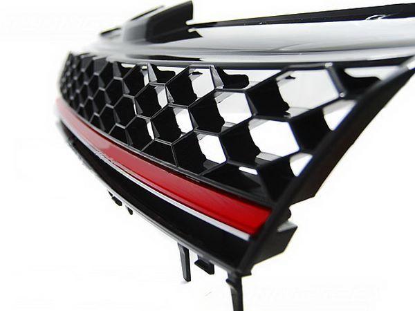 """Решётка радиатора VW Golf 7 (2013-) """"GTI STYLE"""""""