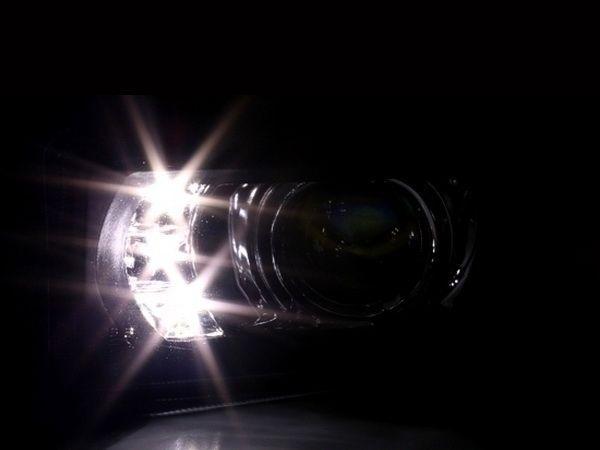 Противотуманки BMW E39 / Z3 чёрные LED