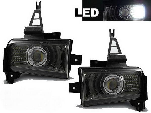 Противотуманки TOYOTA Land Cruiser J200 (07-12) BLACK LED