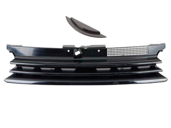 Решётка радиатора VW Golf 4 / IV - чёрная без логотипа 1
