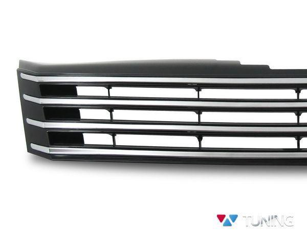 Решётка радиатора VW Passat B7 хром