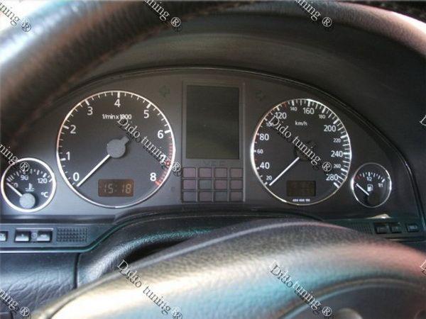 Кольца в щиток приборов AUDI A8 D2 (1994-2002)