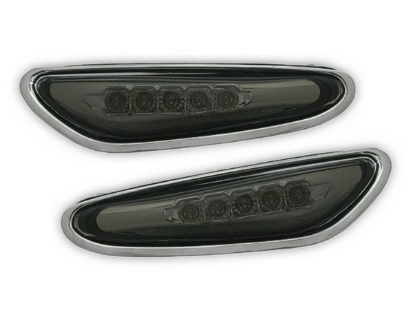 Повороты боковые BMW E46 (01-05) Sd SMOKE LED