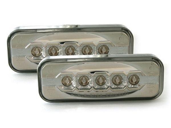 Повороты боковые LED OPEL Omega B (94-03) ТОНИРОВАННЫЕ