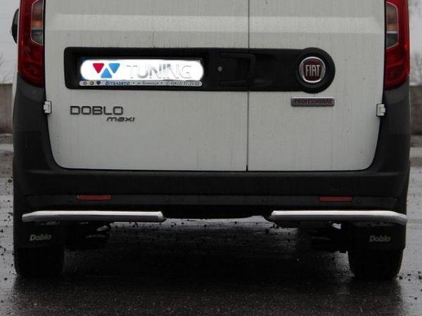 Задние углы бампера FIAT Doblo II (2010-) трубки