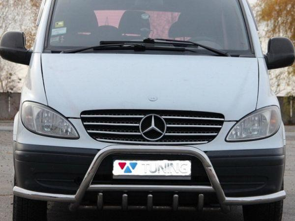Кенгурятник стандарт MERCEDES Vito W639 с усами
