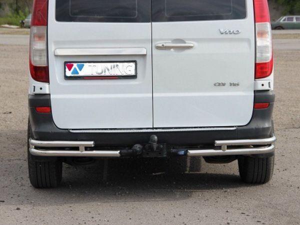 Углы задние MERCEDES Vito W639 трубки двойные