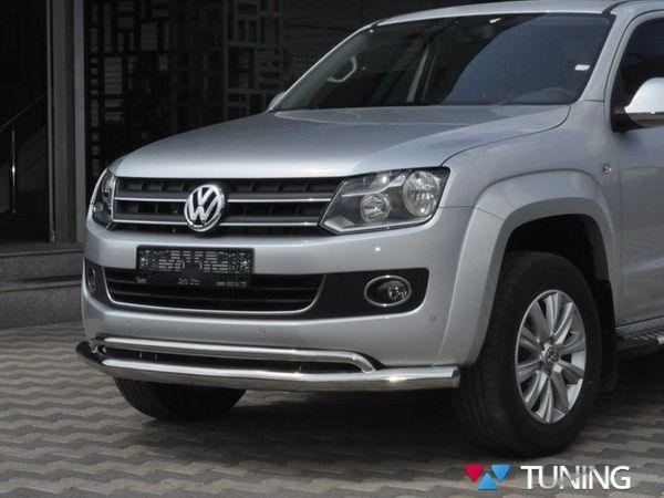 Защита переднего бампера VW Amarok (2010-)