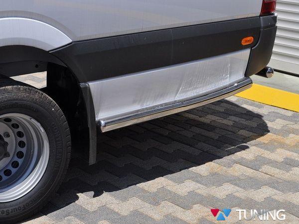 Трубы боковые задние VW Crafter (2006-) Extra Long