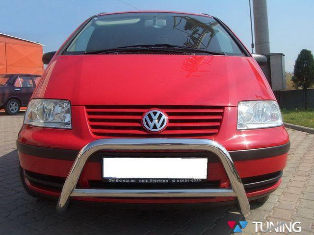 Кенгурятник VW Sharan (1995-2010) с перемычкой