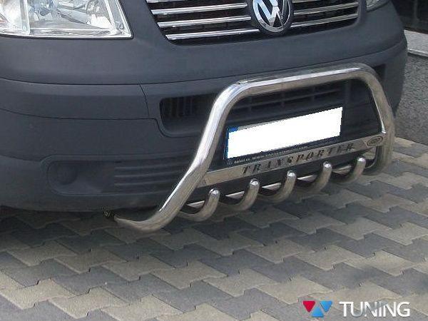Кенгурятник VW T5 / T5+ (2003-2015) с грилем