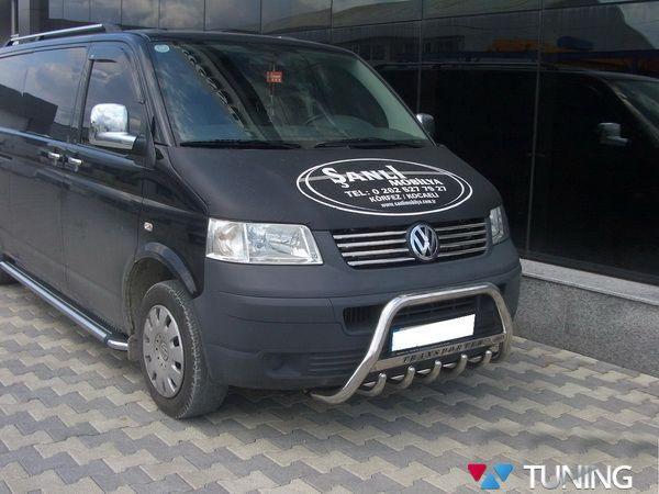 Кенгурятник VW T5/T5+ (2003-2015) с грилем - фото #3