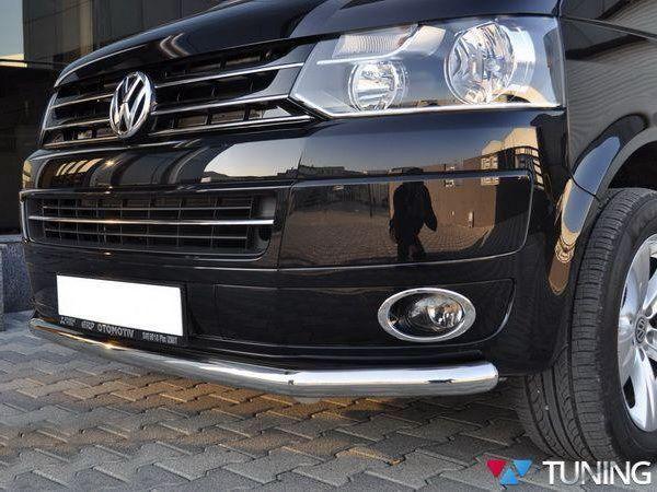 Защита передняя VW T5 / T5+ (03-15) труба прямая