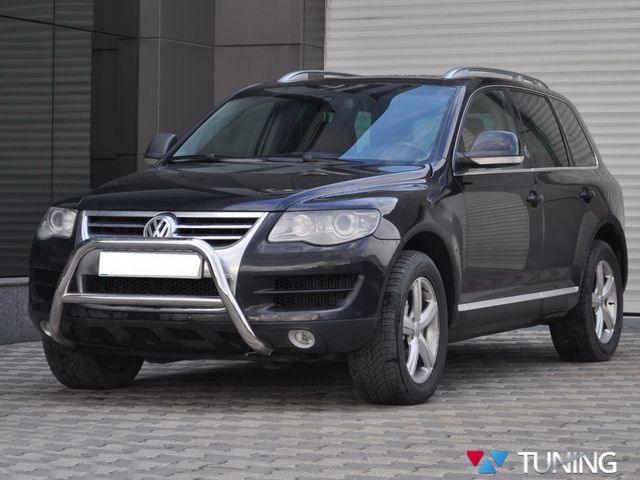 Кенгурятник VW Touareg I (2002-2010) с перемычкой