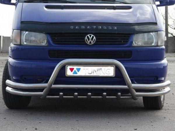 Кенгурятник с двойными усами VW T4 (1990-2003)