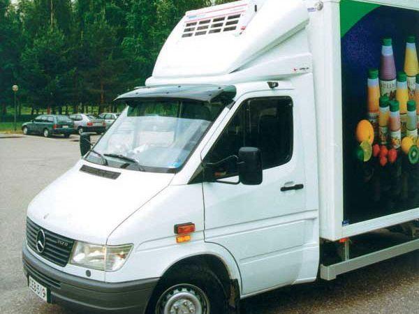 Козырёк на лобовое стекло MERCEDES Sprinter W901