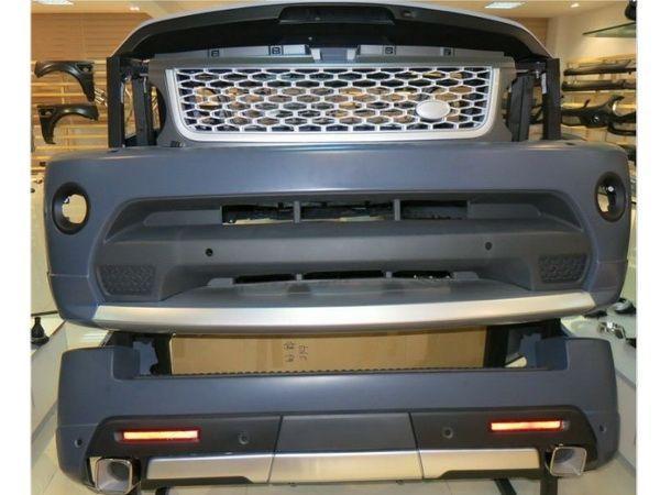 Комплект обвеса Range Rover Sport (L320; 2010-2013) - Autobiography - реал фото