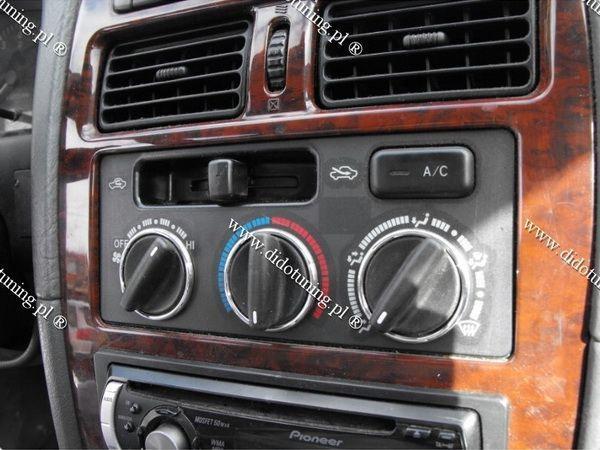 Кольца на ручки печки TOYOTA Avensis I (97-03)
