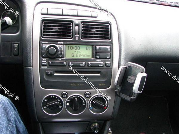 Кольца на ручки печки TOYOTA Avensis I (97-03) Climatronic